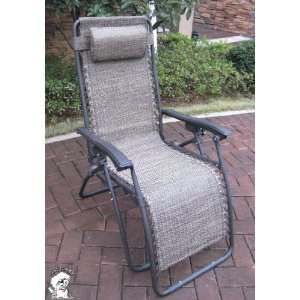 PHAT TOMMY Wide Zero Gravity Folding Lounge Chair   Criss