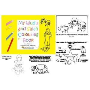 My Wudu and Salah Colouring Book: Farhat Amin, Farah