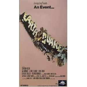 Earthquake [VHS] Charlton Heston, Ava Gardner, George