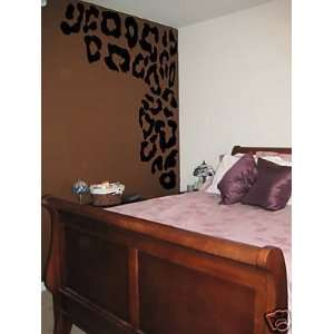 Awesome Leopard Print Dress up Wall Art Vinyl Decal