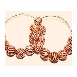 Icewood Hoop Basketball Wives Earrings in Gold