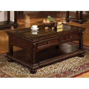 Cherry Finish Coffee Table #AC 110322 Furniture & Decor