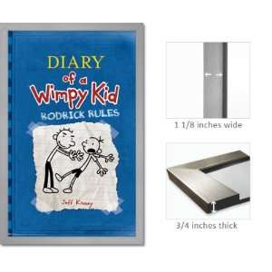 Framed Diary Wimpy Kid Poster Rodrick Rules Fr6397 Home & Kitchen
