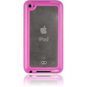 iPod Touch 4G Candy TPU Case with Frosted ABS Plate   Hot