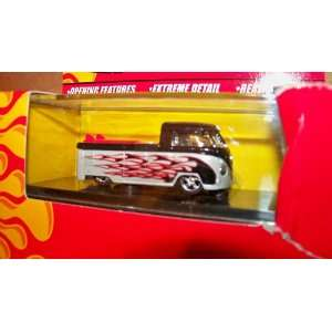 : Hot Wheels Volkswagen Truck Flamed Pickup with Surfboards Hotwheels