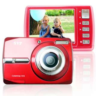 NEW! SVP 18MP Max. Digital Camera + Video Recorder Cybersnap 1018