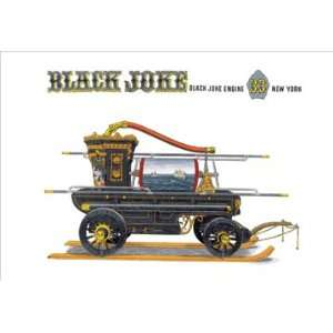 Black Joke: Black Joke Engine 33 New York 16X24 Canvas