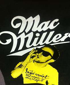 MAC MILLER   SMOKING   T SHIRT ADULTS UNISEX
