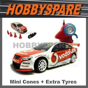 NEW HOLDEN VODAFONE v8 SUPERCAR 1/24 RC DRIFT CAR WHINCUP LOWNDES