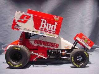 VINTAGE BUDWEISER KNOXVILLE R&R SPRINT CAR GMP 1:18 DIECAST RACE