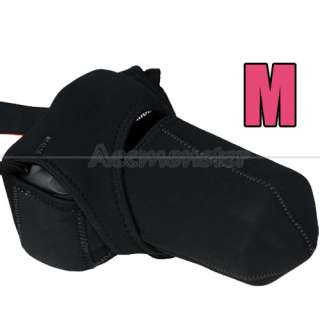 Neoprene Pouch Camera Cover Case Bag for NIKON D5000/D3000/D3100 CANON