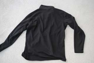 Mountain HardWear Fleece Lined Sweater Jacket Half Zip Thermal Layer