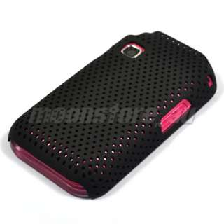 HARD MESH CASE COVER POUCH SAMSUNG C3300K CHAMP BLACK