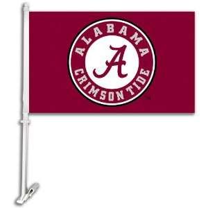 Alabama Crimson Tide Car Flag