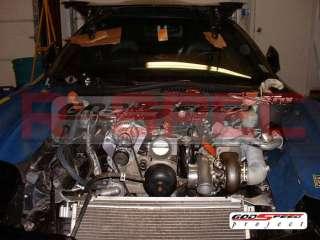 CORVETTE LS1 LS2 LS7 LS9 MOTOR TWIN TURBO CHARGER SET UP KIT 1000HP