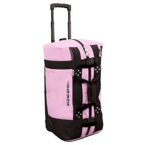 Club Glove 2011 Mini Rolling Duffle Travel Bag (Pink