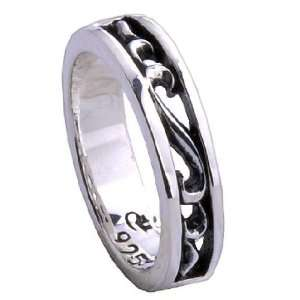 Awesome Looking Retro Fashion Jewelry Ring w/ Carved Designs for Men