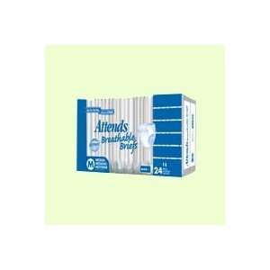 Attends Breathable Briefs X Large, 58 inch to 63 inch,60