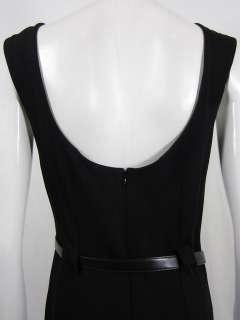 Ralph Lauren womens belted sleeveless straight dress $1198 New