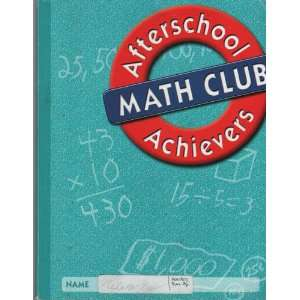 Afterschool Math, 5th Grade Student Edition (9780669488210