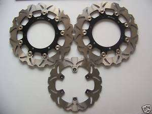 Brake Disc Set For Yamaha YZF R6 99 02 YZF R1 02 03