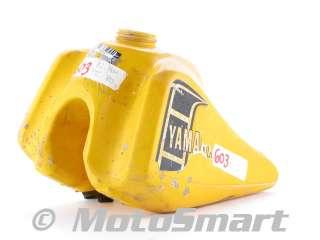 82 Yamaha YZ80 YZ 80 J YZ80J Gas Fuel Petrol Tank   5X2 24110 00 00
