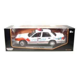 Ford Crown Victoria Windsor Police Interceptor 1/18 Toys