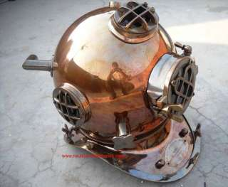 MARK V US NAVY ANTIQUE DIVING HELMET 12KG MODEL
