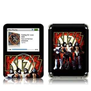 iPod Nano  3rd Gen  KISS  Love Gun Skin MP3 Players & Accessories