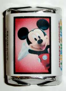 60 MICKEY MOUSE CLUBHOUSE BIRTHDAY PARTY CANDY WRAPPERS