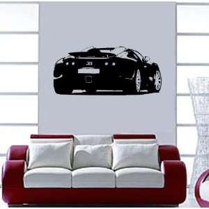 Bugatti Veyron Wall Mural Art Vinyl Decal Sticker / 22 X