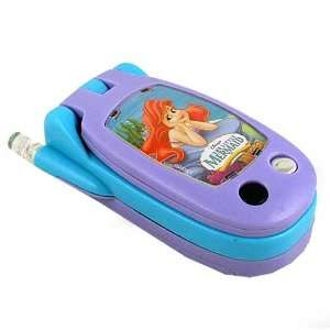Disneys The Little Mermaids Ariel Flip Toy Cell Phone