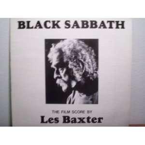 Black Sabbath Original Soundtrack LP