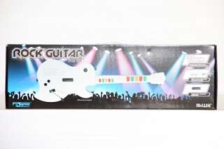 Wireless KMD Guitar for Rock Band Guitar Hero Guitar Controller White