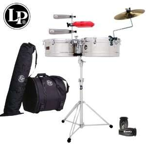 LP Latin Percussion Prestige Timbales Set   14 & 15