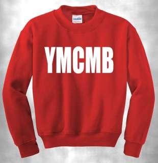 YMCMB CREWNECK MONEY WAYNE YOUNG WEEZY LIL RAP NEW HIP HOP