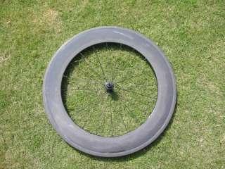 Wholesaler New 700C 88mm Carbon Fiber Tubular Wheelset Wheels for