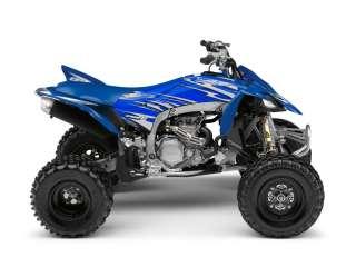 YAMAHA YFZ450R 09 10 BLUE ATV GRAPHICS KIT+SEAT COVER