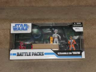 Star Wars Battle Pack Scramble on Yavin NIB