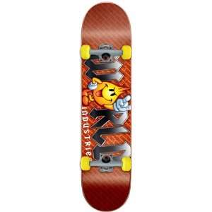 World Industries Flameboy Metal Logo Mid Complete Skateboard