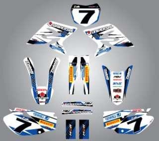 Full Custom Graphic Kit   STORM   Yamaha TTR 50