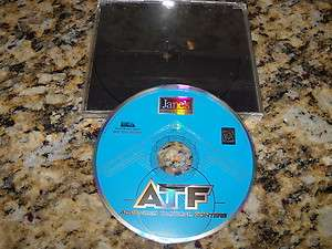 JANES ATF ADVANCED TACTICAL FIGHTERS COMPUTER PC GAME CD ROM XP