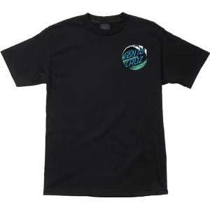 Santa Cruz T Shirt Wave Dot [X Large] Black