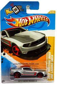 2012 Hot Wheels New Models #8 2012 Ford Mustang Boss 302 Laguna Seca