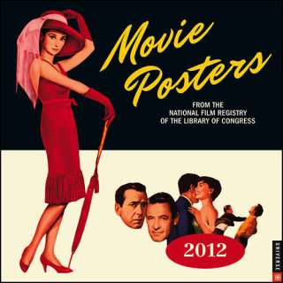 Movie Posters 2012 Wall Calendar