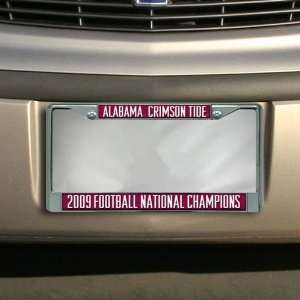 Alabama Crimson Tide 2009 BCS National Champions Laser