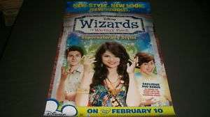 WIZARDS OF WAVERLY PLACE MOVIE POSTER   GOMEZ   MF 2557