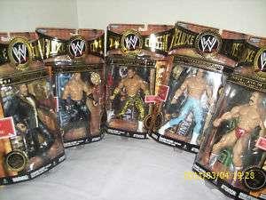 WWE CLASSIC SERIES 4 setof 5 FIGURES MICHAELS DIBIASE &