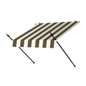 4 Ft. Designer Window Awning Guinness Striped Patio, Lawn