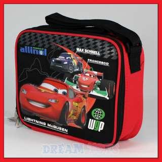 Disney Pixar Cars 2 McQueen WPG Lunch Bag   Box School